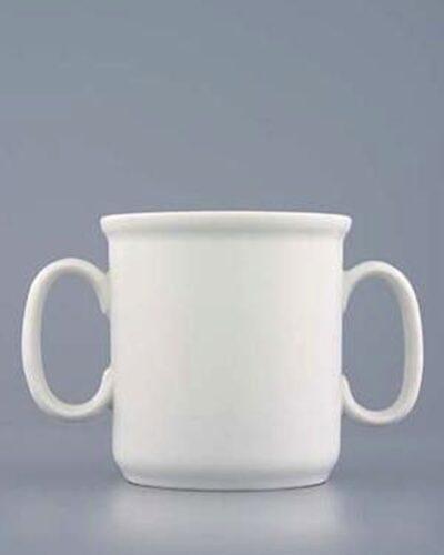 Becher GARRY Doppelhenkel Porzellan