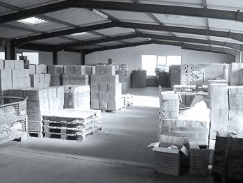 Lager Verpackung Auslieferung