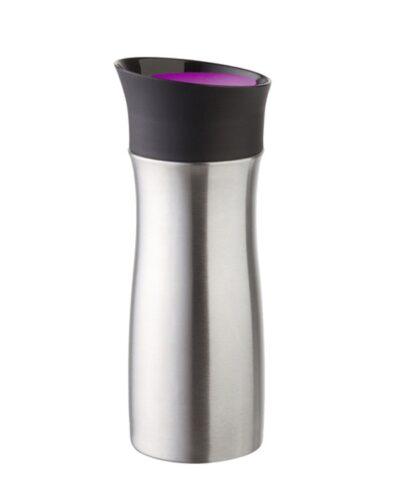 Isolierbecher Drink per Click 0,3l (Edelstahl)