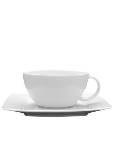 VICTORIA Teetasse Teecup 28cl mit Unterteller 17cm