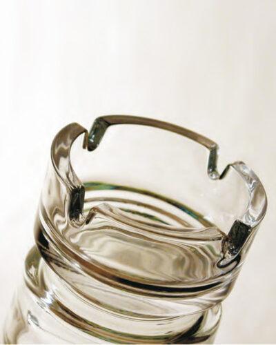 Glasaschenbecher BISTRO 4Ablagen rund