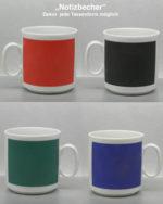 Tafelfarbe mit verschiedenen Farben gedruckt
