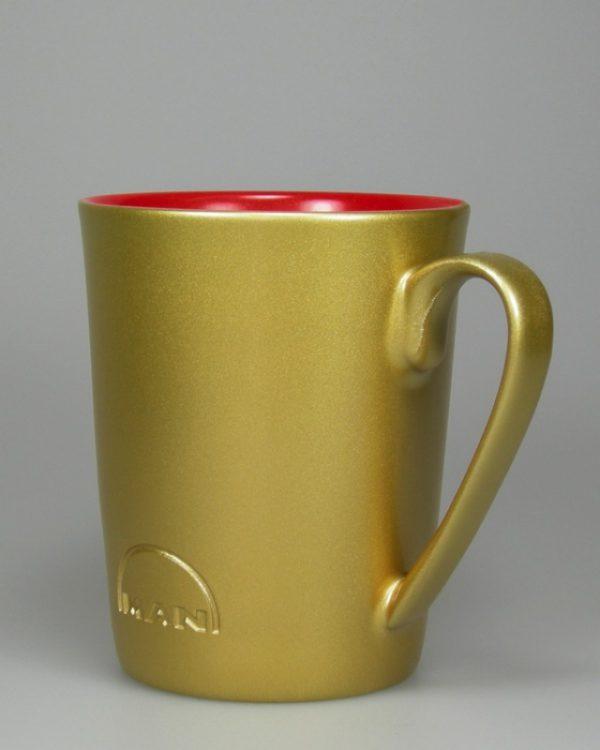 nach Logogravur Goldspritzung metaliceffekt Hydrolack