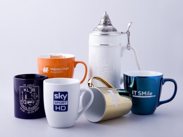 Beispiele mit Logogravur Tiefengravur und anschliessender Farbfüllung