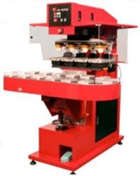 4farb-Tampondruckmaschine