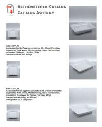 Aschenbecher ashtray Produktübersicht