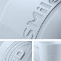 Logogravur Sandstrahlgravur Porzellan Glas