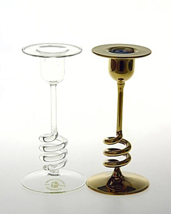 Beispiel Glasbedampfung mit Edelmetall vorher nachher