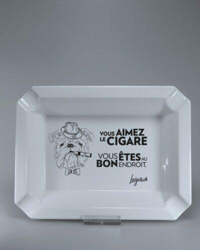 Zigarrenascher - Zigarrenaschenbecher - Porzellan