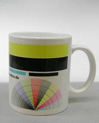 Thermosublimation Drucktest auf Tasse