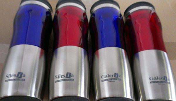 Direktdruck Tampondruck auf Edelstahlbecher