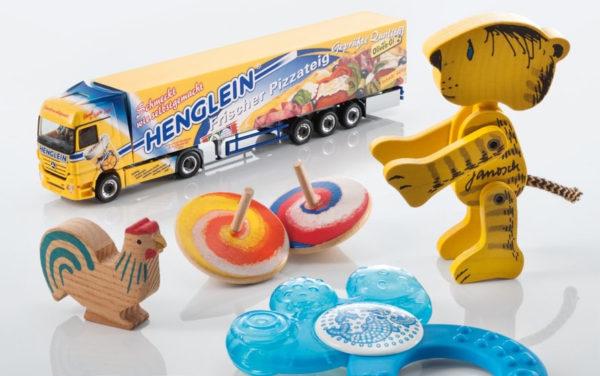 Tampondruck Direktdruck auf Kinderspielzeug lebensmittelecht