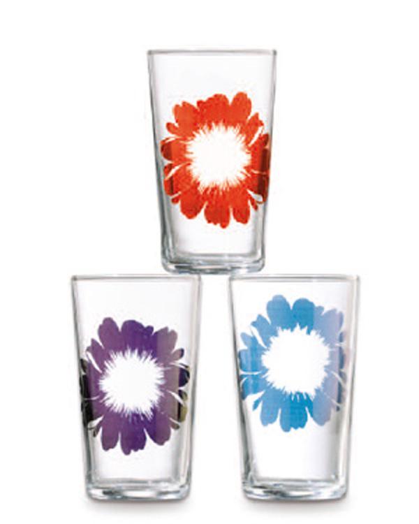 Direktdruck Tampondruck auf Trinkglas