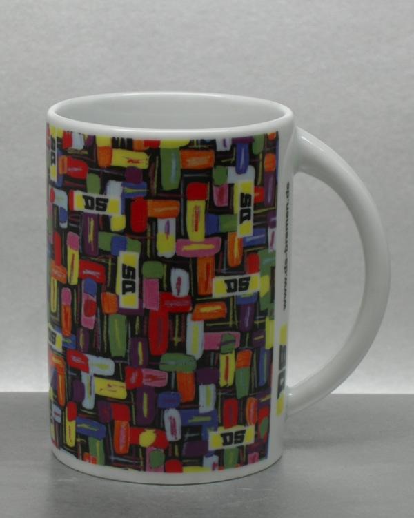 Volldekor Umlaufdekor Jahrestasse CMYK Rastersatz plus Sonderfarben