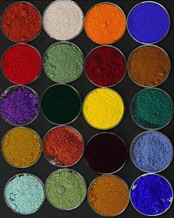 keramische Pigmente als Basis für den keramischen Siebdruck