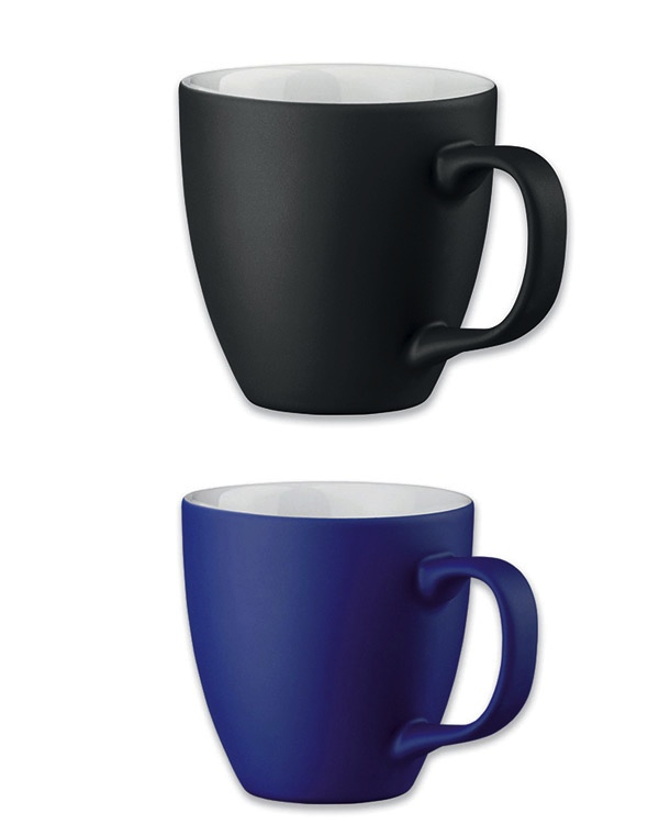 Blau matt Schwarz matt Hydrolack Farbspritzung Beispiel