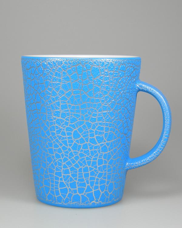 Effektlack Hydrolack Lederoptik Blau