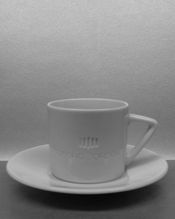 Logogravur Tiefengravur Espressotassen