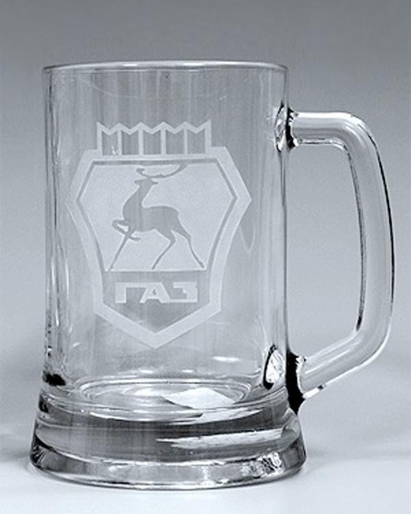 Ätzweissdruck auf Bierseidel, Glasseidel, Glasbierkrug