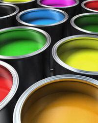 Hydrolack Farbspritzung Produktionstechnik