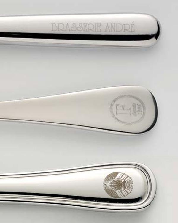 Logos per Laser Engraving auf Besteck Cutlery