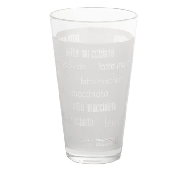 Umlaufdekor Ätzweissdruck Longdrinkglas