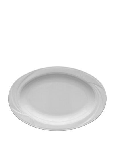 ARCADIA Porzellanteller Beilagenteller oval