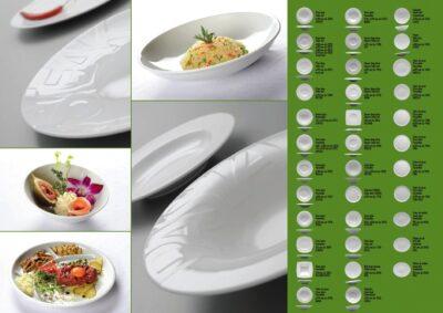Steakteller, Salatteller, Fischteller, Fischplatte, Fondueteller, Pastateller, Pizzateller, Dessertteller 2