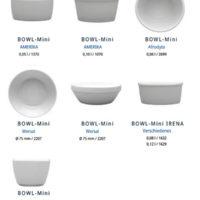 Bild Mini-Bowls-Porzellan-Set