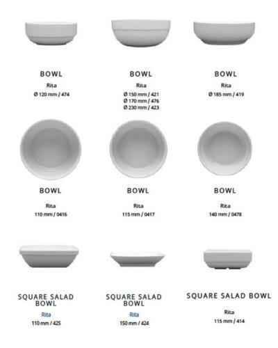 Porzellanmüsli, Bowl, Porzellanschale