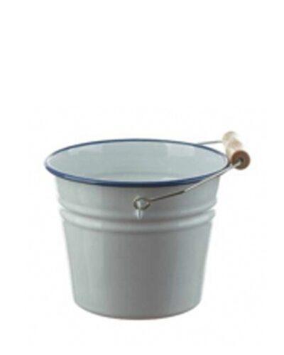 Emaillekübel, Emailleeimer 2 Liter