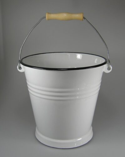Emaillekübel, Emailleeimer 5 Liter