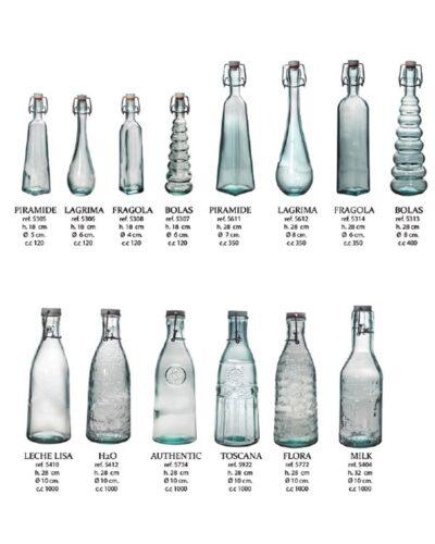 Recyclingflaschen Drahtbügelverschluss