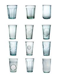 Recyclingglas, Glasrecycling, Recyclingflaschen, Recyclingartikel