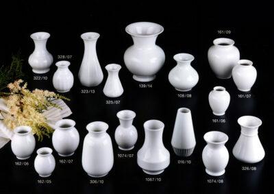 Seite 07- Porzellanvasen- Tischvasen- Blumenvasen
