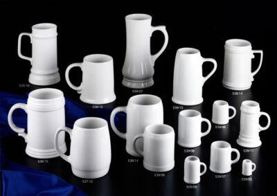 Porzellankruege-Henkelbecher-Stamper-Stamperl