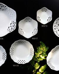 Seite 20- Porzellan- Durchbruchschalen