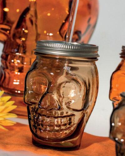 Totenkopf Skull ToGo Glas