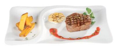 Gourmet Speiseteller 2teilig