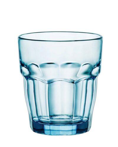 durchgefärbtes Farbglas im Blauton IceBlau Iceblue
