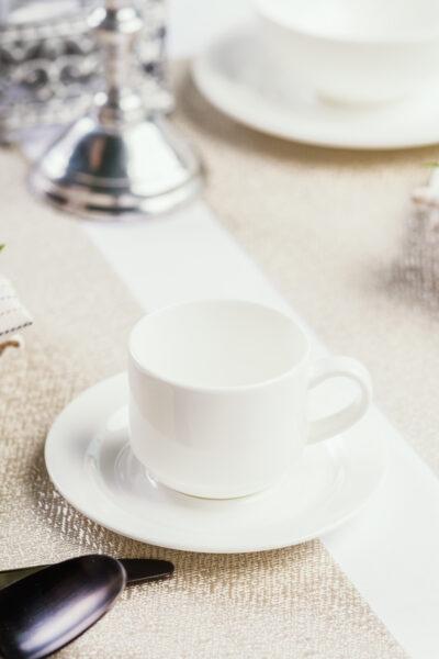 Espresso Mokka Obertasse Fine Bone China