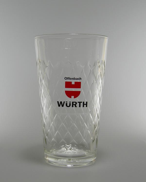 Apfelweinbecher Apfelweinglas mit Logodruck
