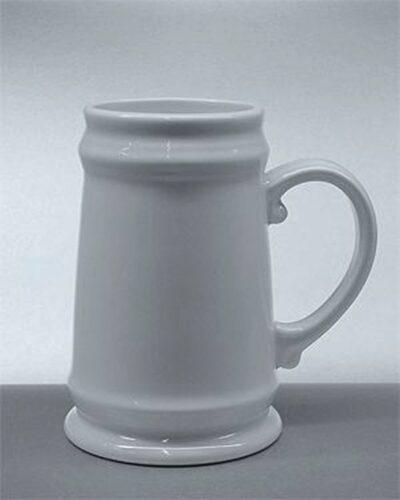 Porzellankrug Bierkrug 0,5l Burgherrren