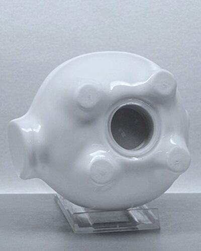Porzellansparschwein GERDI 12cm Unterseite