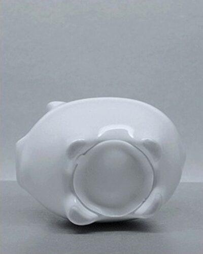 Sparschwein Porzellan LISSY 10cm Unterseite