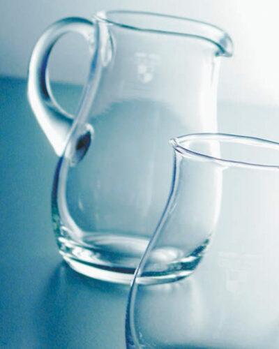 Antwerpen Glaskruege mit Henkel