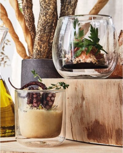 Appetizer, doppelwandiges THERMIC_Glas, Trend Food