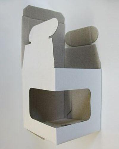 Einzelumkarton mit Sichtfenster