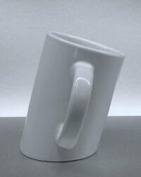 schräge Porzellantasse PISA2 bedrucken