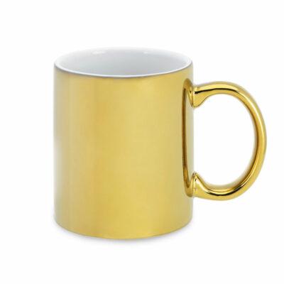 Farbtasse FANNI metalic gold